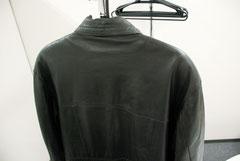 レザーコート擦れ劣化色あせ2リペア後