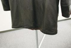 レザーコート擦れ劣化色あせ3リペア後