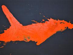 Bewohner der Meere   Bild 5   Hai   80 x 60 cm
