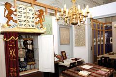 Einst befand sich diese Privatsynagoge im Innern eines Wohnhauses.