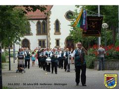 Umzug 50 Jahre SFB-Böckingen Juni 2012