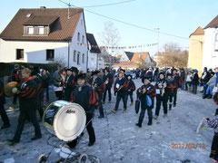 Karnevalsumzug Talheim 12.2.2012