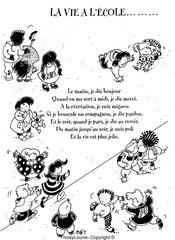Dépliant école maternelle rue de l'aqueduc Paris 75010