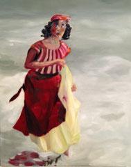 La bohème, 40x50 cm, 2013, Oel auf Leinwand