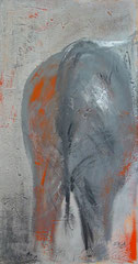 und tschüß, Acryl, 50x95cm, verkauft