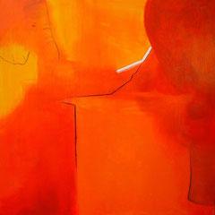Sundowner, Acryl, 80x80cm