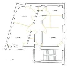 plan des démolitions