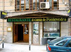 Restaurante gallego recomendado A Casa de Pontevedra en Madrid