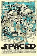 SPACED (LES ALLUMÉS • Channel Four - 1999 - GB • 14 épisodes sur 14 • Laboratoire de sous-titrage : DUBBING BROTHERS  • Diffusion: SÉRIE CLUB