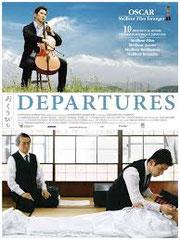 DEPARTURES (OKURIBITO), de Yojiro Takita • Sochiku - 2008 - Japon • Laboratoire de sous-titrage: ECLAIR (nouveau sous-titrage pour ARTE) • Co-adaptatrice: Ryoko Hagiwara