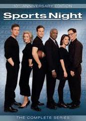 SPORTS NIGHT • Aaron Sorkin - 2000 - USA • saisons 1 et 2 - 24 épisodes sur 45 • Laboratoire de sous-titrage : DUBBING BROTHERS • Diffusion: SÉRIE CLUB