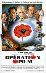 THE POPPY IS ALSO A FLOWER (OPÉRATION OPIUM), de Terence Young • Telsun - 1966 - USA • Laboratoire de sous-titrage : TITRA-TVS