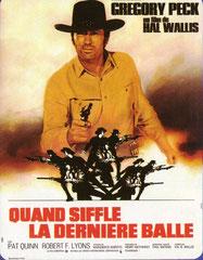 SHOOT OUT (QUAND SIFFLE LA DERNIERE BALLE), de Henry Hathaway • Universal - 1971 - USA • Laboratoire de sous-titrage : TITRA-TVS