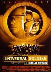 Universal Soldier - The Return (LE COMBAT ABSOLU) de Mic Rodgers • TriStar - 1999 – USA • Studio de doublage: Sonorinter • Direction artistique : Didier Breitburd