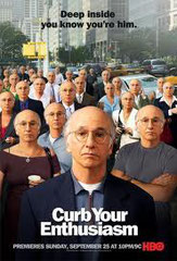CURB YOUR ENTHUSIASM • HBO - 2001 - USA • saisons 1 et 2 - 20 épisodes sur 20 • Laboratoire de sous-titrage : IMAGINE  • Diffusion : JIMMY