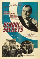 SCHOOL FOR SECRETS, de Peter Ustinov • Rank - 1946 - GB • Laboratoire de sous-titrage : TITRA-TVS