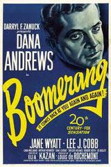 BOOMERANG, d'Elia Kazan • Twentieth Century Fox - 1947 - USA • Laboratoire de sous-titrage : TITRA-TVS