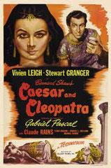 CAESAR AND CLEOPATRA (CÉSAR ET CLÉOPÂTRE), de Gabriel Pascal • Carlton - 1946 - GB • Laboratoire de sous-titrage : TITRA-TVS