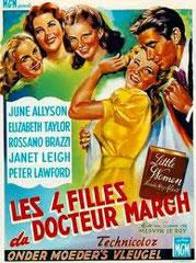 LITTLE WOMEN (LES QUATRE FILLES DU Dr MARCH), de Mervin LeRoy • MGM - 1949 - USA • Laboratoire de sous-titrage : TITRA-TVS