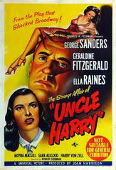 The strange affair of uncle harry (ONCLE HARRY), de Robert Siodmak • Universal - 1945 - USA • Laboratoire de sous-titrage : TITRA-TVS