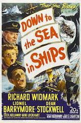 Down to the sea in ships (LES MARINS DE L'ORGUEILLEUX), de Henry Hathaway • Columbia - 1949 - USA • Laboratoire de sous-titrage : TITRA-TVS