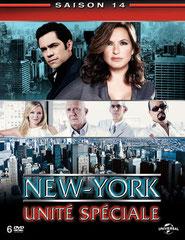 NEW YORK UNITÉ SPÉCIALE (saison 14) NBC - 2012 - USA • Studio de doublage : Libra •  Direction artistique : Jean-Pascal Quilichini •  5 épisodes sur 24 •  Diffusion: T F 1