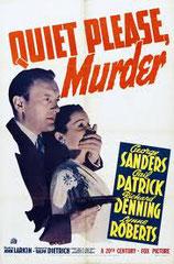 QUIET PLEASE, MURDER (MEURTRE A LA BIBLIOTHEQUE), de John Larkin • Twentieth Century Fox - 1942 - USA • Laboratoire de sous-titrage : TITRA-TVS