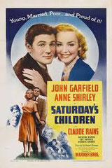 SATURDAY'S CHILDREN, de Vincent Sherman • Warner - 1940 - USA • Laboratoire de sous-titrage : TITRA-TVS
