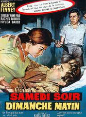 Saturday Night and Sunday Morning (SAMEDI SOIR ET DIMANCHE MATIN), de Karel Reisz • Woodfall - 1960 - GB • Laboratoire de sous-titrage : TITRA-TVS