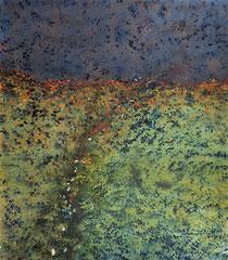 NICHT OHNE, 2017 - 19, 70 x 80cm, auf Zellstoff
