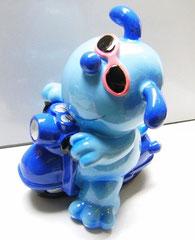 salvadanaio azzurro