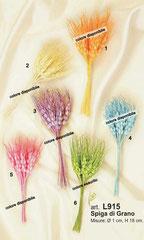 grano sintetico colorato  12 spighe € 1,70