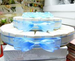 torta bomboniera in laboratorio