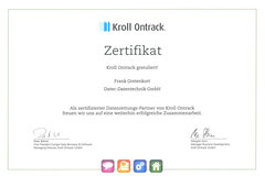Kroll Ontrack - Zertifizierter Datenrettungs-Partner