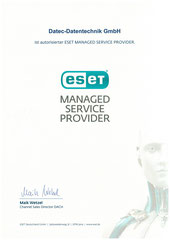 Autorisierter ESET Managed Service Provider