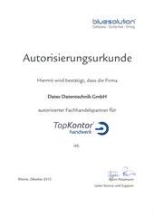 Autorisierter Fachhandelspartner TopKontor Handwerk