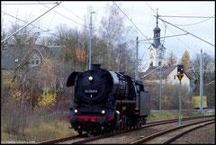 Am 13.11.2010 rollte 44 2546 vom Bayerischen Eisenbahnmuseum, Standort Nördlingen nach Chemnitz-Hilbersdorf.