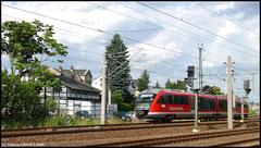Am 06.07.2010 Erzgebirgsbahn im Planverkehr.
