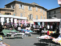 Markt in Orvieto