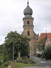 Barockkirche in Eyershausen