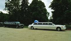 Lettische Hochzeitskutsche