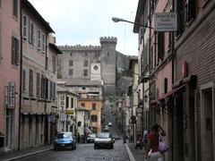 Hauptstraße von Bracciano