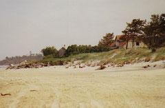 Strand am Übernachtungsplatz