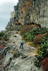 Aufstieg zum Rocca