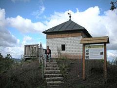 Aussichtshütte auf dem Blankenberg