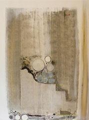 Regard sans Impairs sur des Oeufs Pers 2012      60 cm x 80 cm 3D