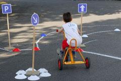 le parcours tricycle