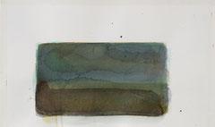o.T. 2010 Aquarellfarbe 17,6 x 29,6 cm