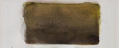 o.T. 2010 Aquarellfarbe 12,2 x 29,8 cm