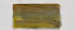 o.T. 2010 Aquarellfarbe 12 x 29,5 cm